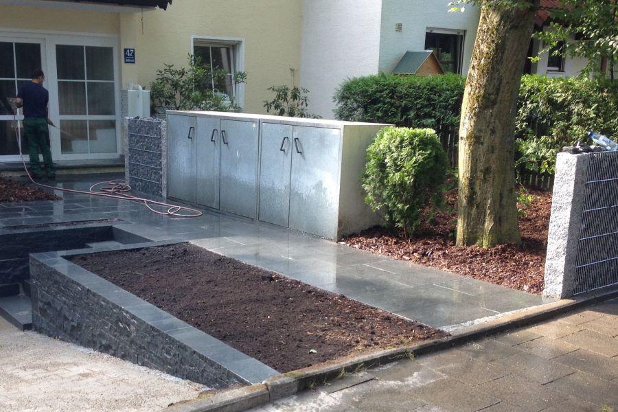 Garten landschaftsbau gartenbau landschaftspflege bracker - Vorgarten eingangsbereich ...